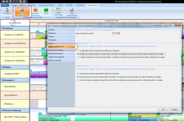 Nouveautés Direct Planning sur l'aide à la planification en version 2.1.2