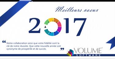 Volume Software carte de vœux 2017